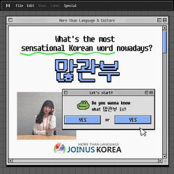 [Daily JOKOer] What's the most SENSATIONAL Korean word? 많관부!