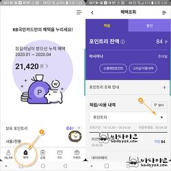 국민카드 경기도 재난기본소득 사용 내역 확인 방법