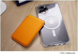맥세이프 카드지갑 캘리포니아 포피 후기! 아이폰12 카드지갑 정품 짝퉁 구별 방법