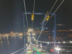차낙칼레 교량 Main Cable 가설 1 (2021.02)