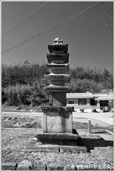 충남 부여 세탑리오층석탑