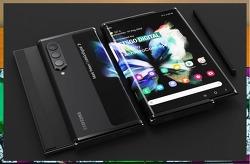 삼성 이번엔 롤러블 스마트폰 갤럭시Z 슬라이드!! 출시된다면 이런 모습일까?