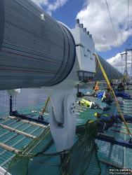 차낙칼레 교량 Main Cable Clamp / Hanger 설치1 (2021.06)