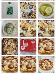 피자 헛먹었습니다. 오랜만에 단순 페퍼로니 피자 M.