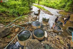 별의 도시 치앙다오의 노천 온천 / Hot Springs, Chiangdao, Thailand