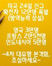 ■미국 확진 하루 11만 9천명 쏟아져■(5개월전 회귀/ 방역능력 없다)
