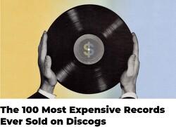Discogs에서 가장 비싸게 팔린 100대 앨범이 있네요