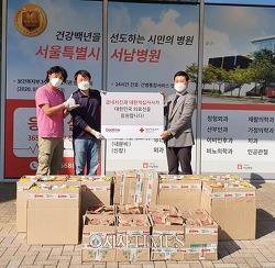 굽네치킨, 서울지역 의료진 응원 '덕분에 챌린지' 캠페인 진행