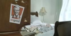 센스가 좋은 KFC 광고!