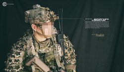 [Helmet] Crye Precision NIGHTCAP™ with BATTERY POUCH