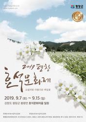 2019 평창효석문화제 (소설처럼 아름다운 메밀꽃 보러 가요~)