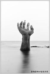 경북 포항 호미곶에서