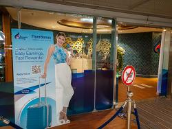 PP 카드로 이용할 수 있는 방콕 수완나품 공항 국내선 라운지  블루 리본 클럽 라운지 Blue Ribbon Club Lounge [방콕 공항 라운지]