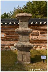 강원 춘천 박물관석탑