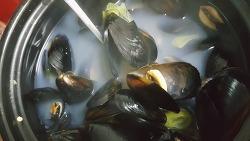 가을해산물 홍합으로 칼칼 홍합탕 만드는법