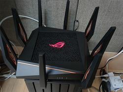 ASUS GT-AX11000 802.11ax 트라이밴드 게이밍 유무선 공유기 리뷰