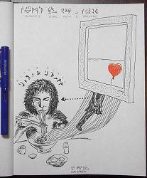 [참고] Banksy 관련 그렸던 드로잉에서 참고한 사진