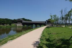 경주 월정교,황성공원