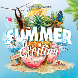 SUMMER EXCITING  / 6.11(목)~6.24(일)