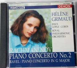 라흐마니노프 피아노 협주곡 2번  by Helen Grimaud (1992년, 엘렌 그리모, 지저스 로페즈 코보스, 로얄 필하모닉)