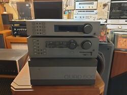 영국 QUAD 쿼드 베스트셀러 FM4튜너와 44프리엠프 606 파워엠프 조합입니다 -A급-