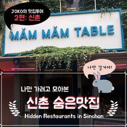 [Korean Class] Hidden Places to Eat in Sinchon