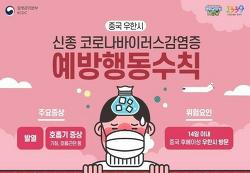 [안내] 신종코로나바이러스 예방수칙