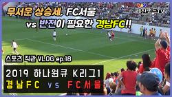 [직관 VLOG ep.18] 2019.06.02 - 경남FC vs FC서울