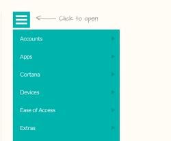 Windows 설정 앱 실행 - UWP applications mssettings.com