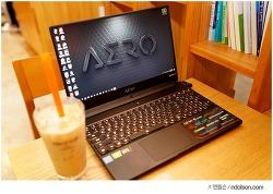 인텔 9세대 에어로 15X V10 게이밍 노트북 RTX2070 MAX-Q