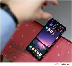 LG G8 씽큐 손바닥 에어모션 사용법