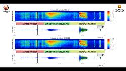 Listen To a Martian Earthquake 최초로 화성의 지진을 감지