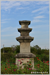 경기 안성 죽산리삼층석탑
