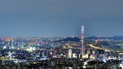남한산성 야경