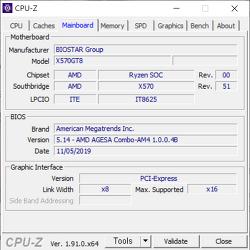 AMD x570 메인보드 사용자 중 1.0.0.4B 업데이트 이후 PCIE 장치 사용시 부팅이 안되거나 인식불량인 경우