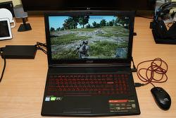MSI GL63 8SE 게이밍 노트북 리뷰 RTX2060 배틀그라운드 후기