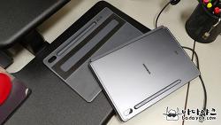 갤럭시 탭S6 키보드 커버 단단하게 부착하는 방법