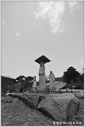 충남 당진 안국사지 석조여래삼존입상