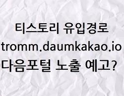 [티스토리] tromm.daumkakao.io의 정체는 무엇? (부제. 다음포털 노출, 유입급증, 애드센스)