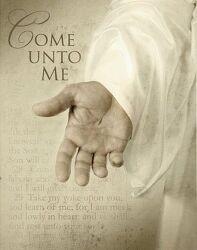 예수, 쉼을 주시다. (마 11:28-29)