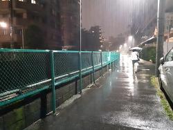 비오는 퇴근길