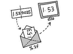 [PHP]소수점 이하 2 자리까지 표시하기 (예: $ 1.10 )