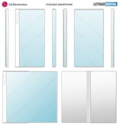 LG가 개발중인 신형 아웃폴드 폴더블폰, 어떤 모습?