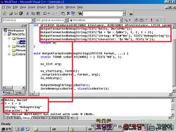 [Windows API] OutputDebugString을 printf처럼 서식(포맷) 적용하여 사용하기