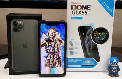 아이폰 11 강화유리 무엇을 붙일까? 아이폰11 프로 전용 돔글라스 부착방법