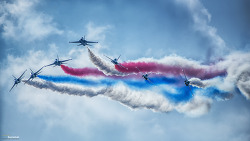 The Republic of Korea Air Force's Aerobatic Team Performance. BlackEagles