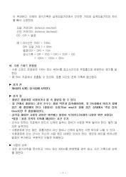 제4회 회장배 전국 무호흡잠영선수권대회 겸 2020년 대표선수선발전