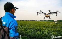 농업용 드론 보조금 가격, 방제드론 농사에 투입 농업경영사례
