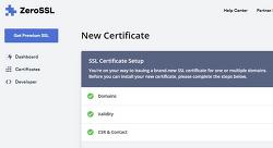 ZeroSSL (Let's Encrypt) 유료화 전환