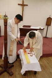 부활밤 예식과 부활대축일 감사성찬례